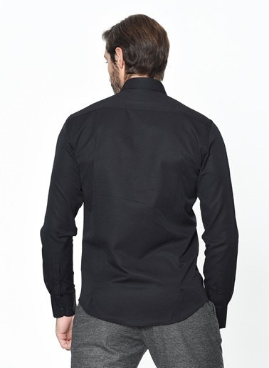 Avva Slim Fit Pantolon Siyah